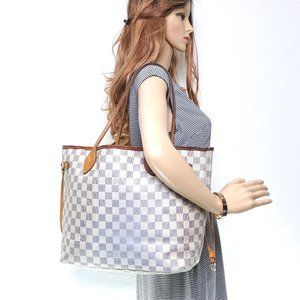Auth Louis Vuitton Neverfull Mm Tote #6349L47